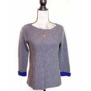 Cynthia Rowley 100% wool sweater top